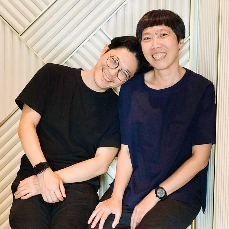 Yu Yah-Leng and Arthur Chin